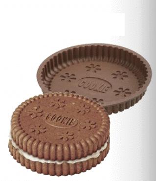 Cookie xl chocoladetaart met kwarkvulling