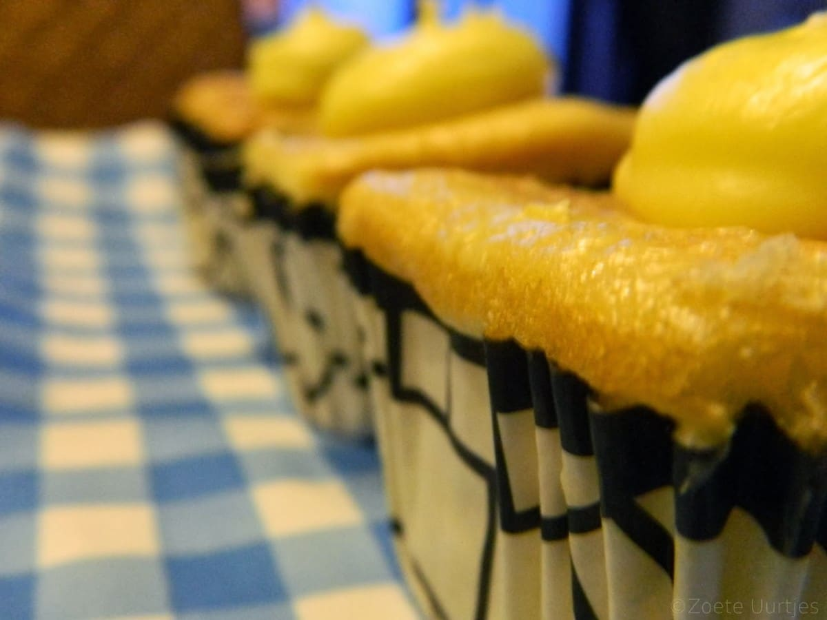Cupcakes citroen