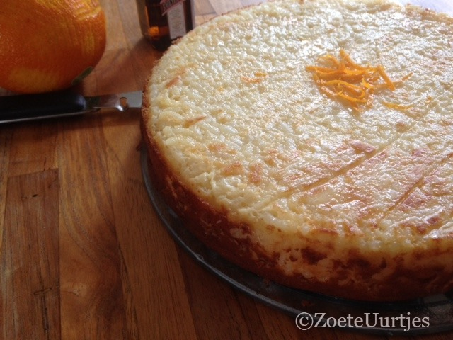 rijsttaart met sinaasappel
