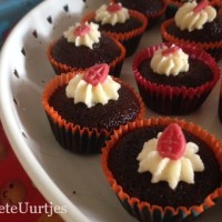mini sinterklaas cupcakes