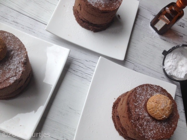 chocolade mousse met Cointreau