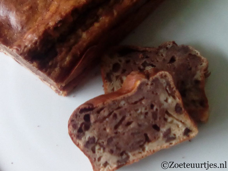 bananenbrood met chocola