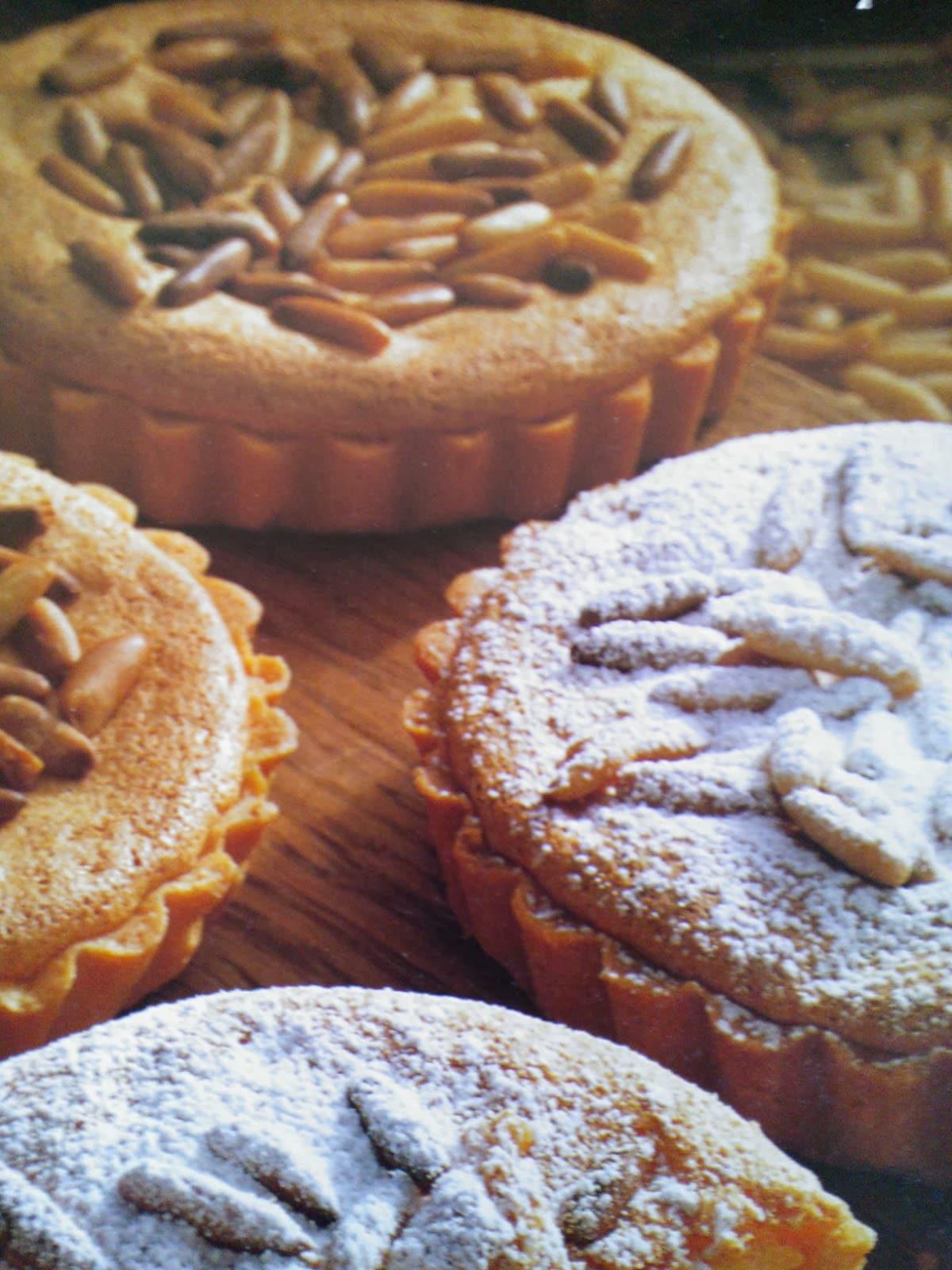 Pijnboompitten taartjes
