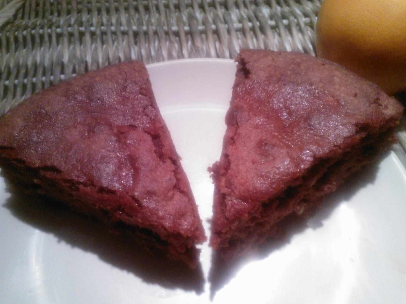 Sinaasappel chocoladecake