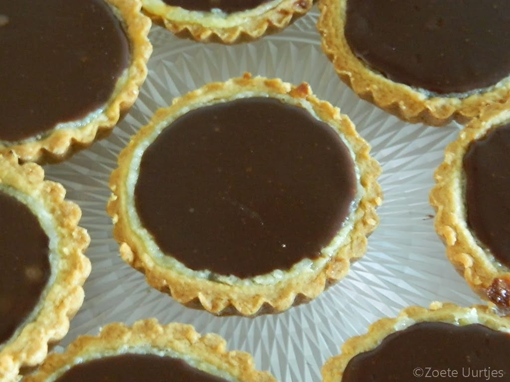 Bretonse-amandel chocoladegebakjes