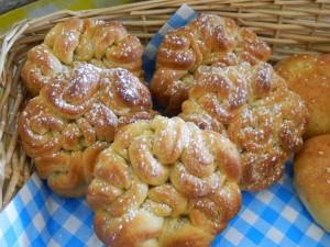 Keltische brioche broodjes