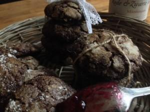 Chewy chocolade koekjes