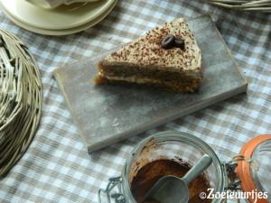 koffietaart met mokkaroom