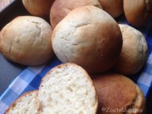 broodjes met kokosmelk