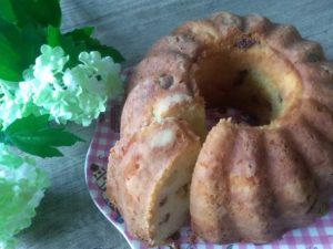 tulbandcake met boerenjongens en appel