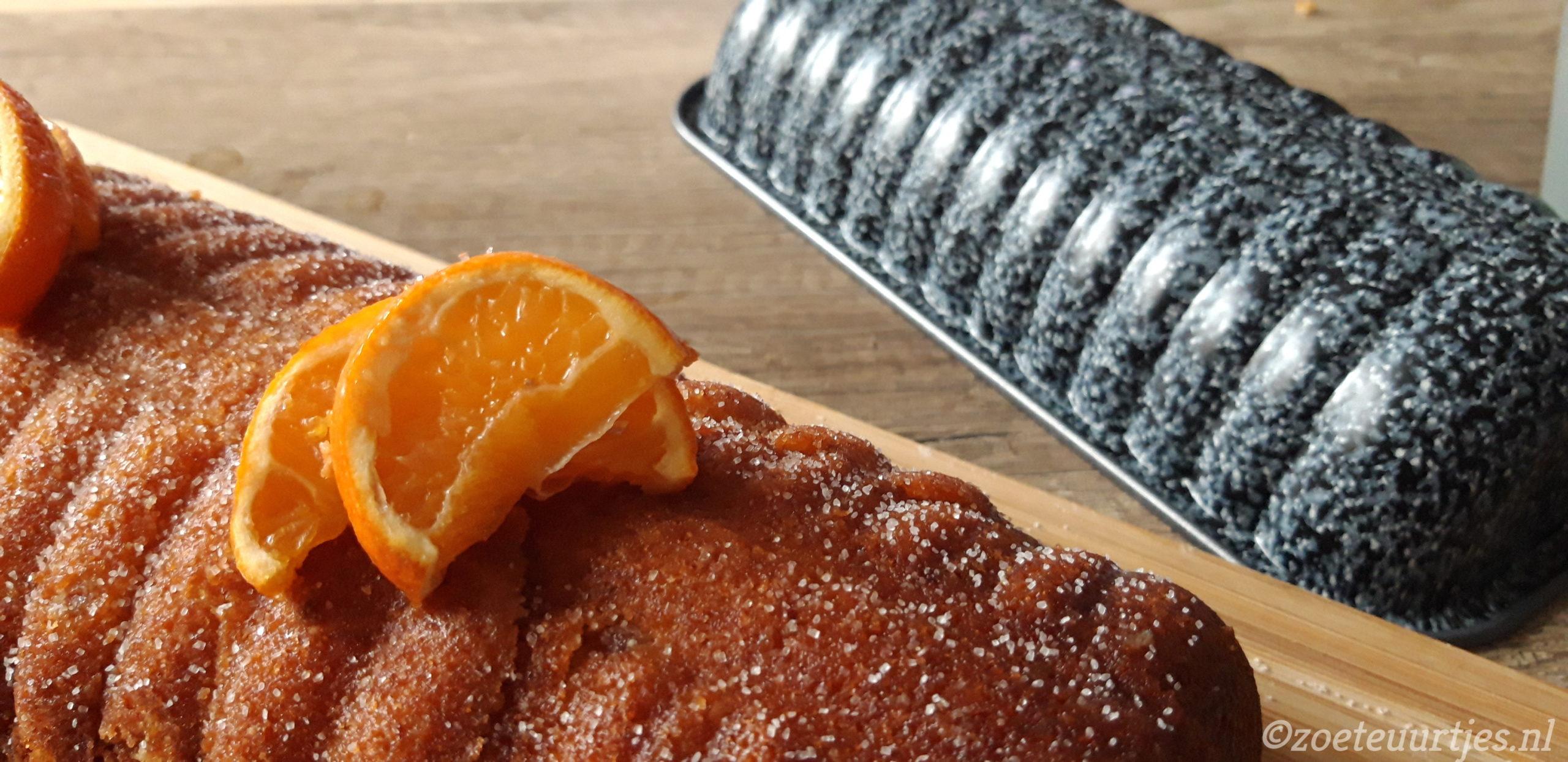 cake met mandarijn