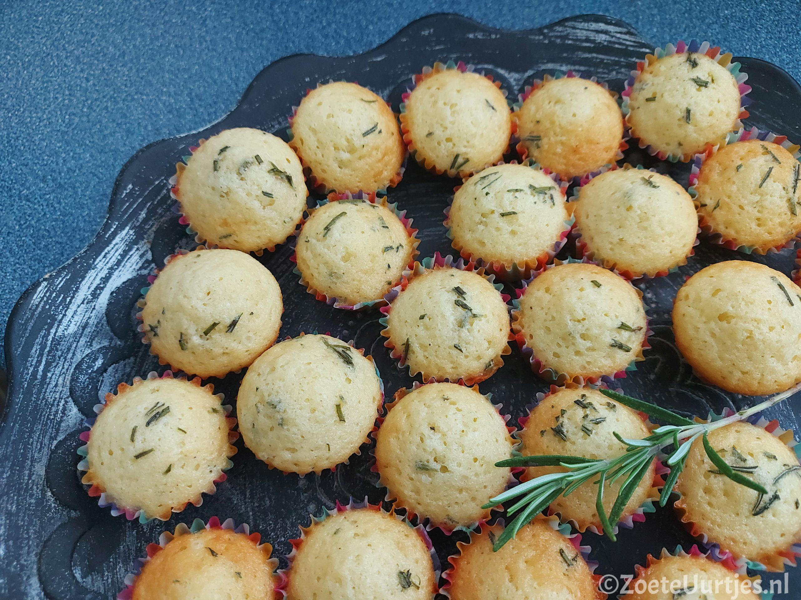 hartige mini cupcakes